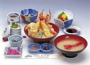 光徳天丼(高足ガニ天丼)