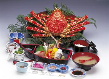 特選高足ガニ定食